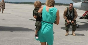 Marine's Wife Helping Kids Cope with Deployment of Parents through Personalized Books
